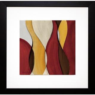 Lanie Loreth 'Crimson Coalescence I' Framed Art Print