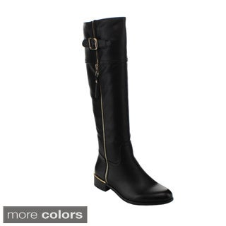 Via Pinky Women's 'Suzanna-04' Over Knee-high Riding Boots