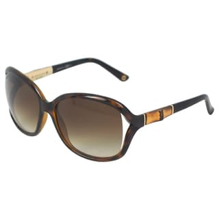 Gucci Women's 'GG 3671/S OKSCC' Havana Gold Full-rim Sunglasses
