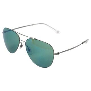 Gucci 'GG 2245/S 6LBHZ' Ruthenium Grey Aviator Sunglasses