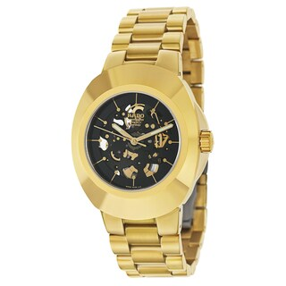 Rado Men's R12829163 'Original' Yellow Gold PVD-coated Stainless Steel Chronometer Watch