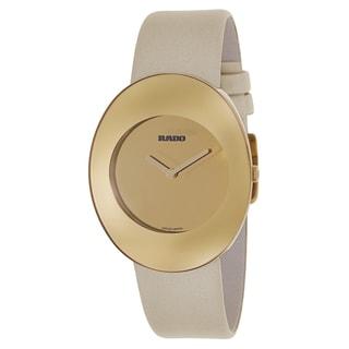 Rado Women's R53740306 'Esenza' Goldtone Stainless Steel Swiss Quartz Watch