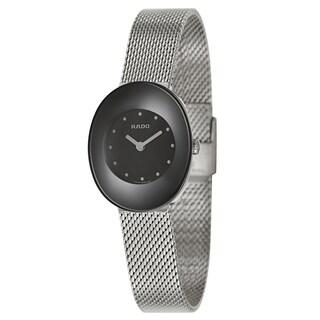 Rado Women's R53743163 'Esenza' Stainless Steel Mesh Swiss Quartz Watch