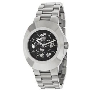 Rado Men's R12828163 'Original' Stainless Steel Skeleton Watch