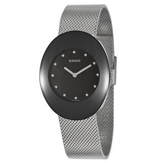 Rado Men's R53739163 'Esenza' Stainless Steel Mesh Swiss Quartz Watch