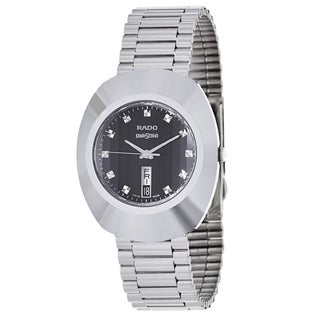 Rado Men's R12305153 'Original' Hardmetal Swiss Quartz Watch