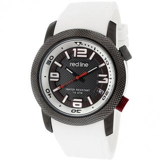 Red Line Men's RL-50043-GY-01-WH Octane Grey Textured Watch