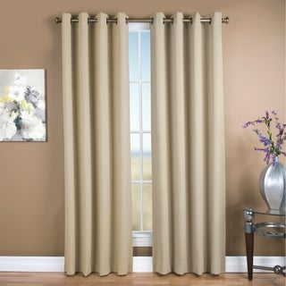 Ultimate Blackout Grommet Top Curtain Panel Pair