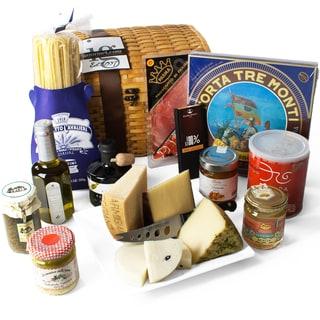 Italian Treasures Chest Gift Basket