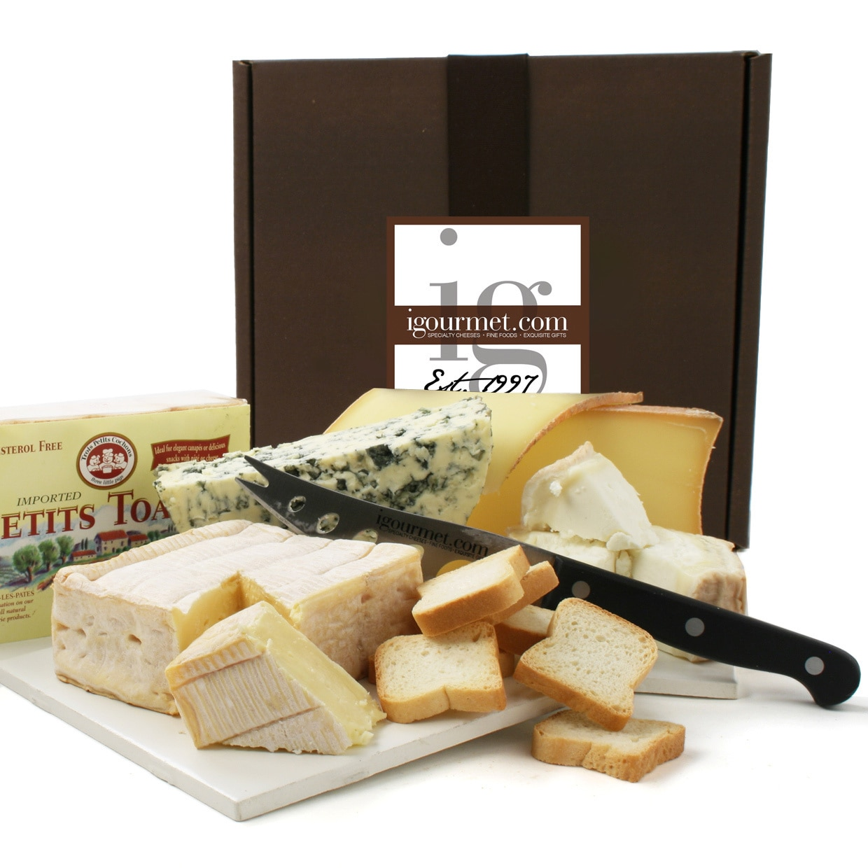 Overstock.com French Cheeses for the Connoisseur in Gift Box at Sears.com