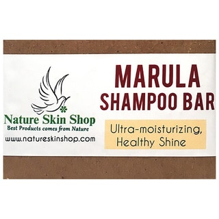 Nature Skin Shop Moisturizing Marula All Natural Cold Press Shampoo Bar
