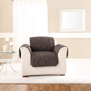 Sure Fit Matelasse Espresso Chair Throw