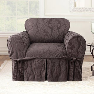 Sure Fit Matelasse Damask Chair Slipcover
