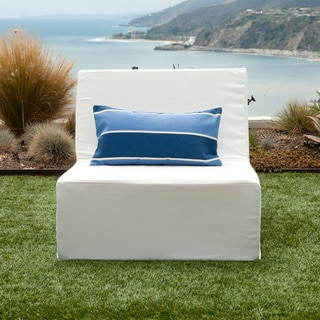 Softblock Lowboy White Indoor/ Outdoor Lounge Chair