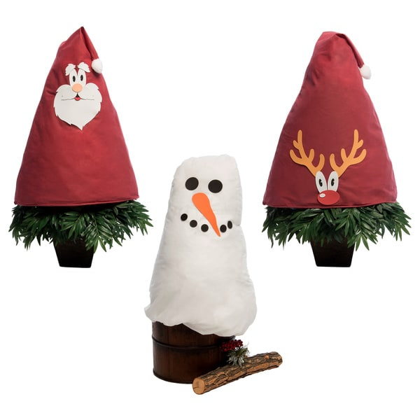 Winter Pals Bush Covers (Pack of 3)