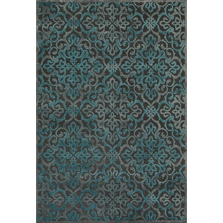 Carrara Dark Grey Marine Area Rug (9'8 x 12'7)