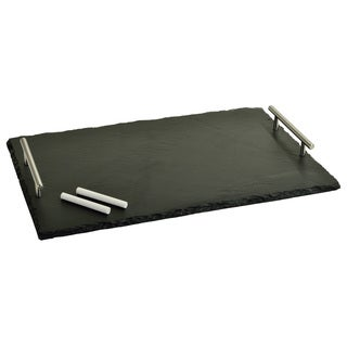 Sardo Rectangle Slate Tray