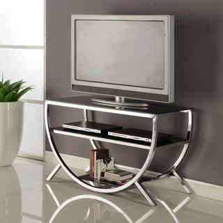 K&B Chrome TV Stand