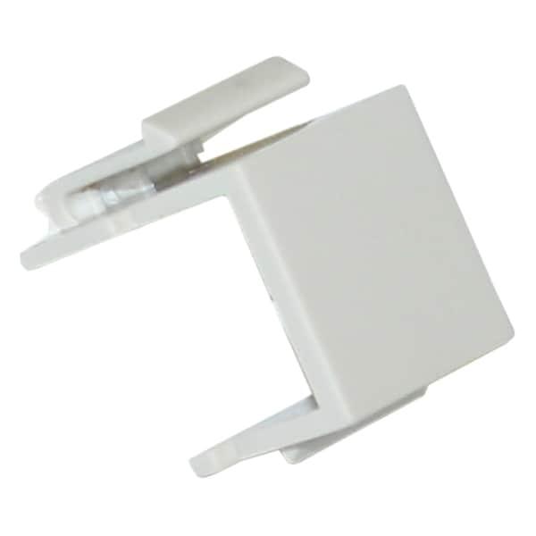 Offex Blank Beige Insert Module for Keystone Wall Plate