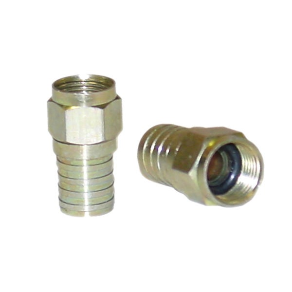 Offex RG6 F-Pin Crimpable Connector