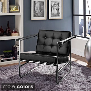 Poise Stainless Steel Lounge Chair