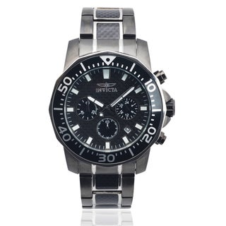 Invicta Men's 17257 Stainless Steel 'Pro Diver' Chronograph Watch