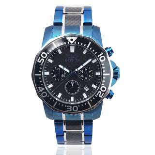 Invicta Men's 17256 Stainless Steel 'Pro Diver' Chronograph Watch