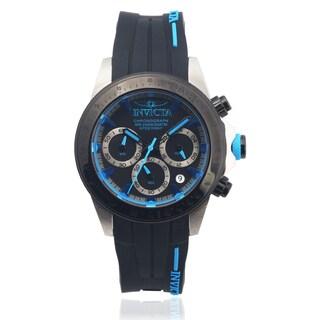 Invicta Men's 17193 Silcone 'Speedway' Chronograph Watch