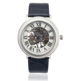 Invicta Men's 17243 Genuine Leather 'Specialty' Mechanical Watch