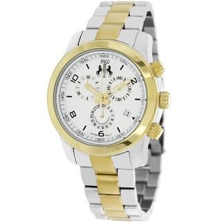 Jivago Women's Infinity Chronograph Two-Tone Watch