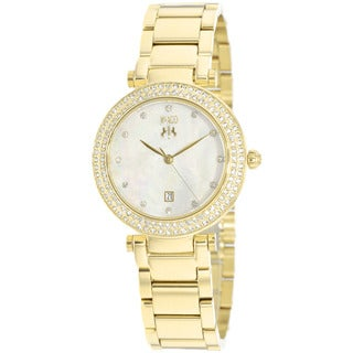 Jivago Women's Parure Godltone Stainless Steel Watch