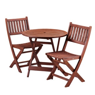 Upton Home Kellen Folding Bistro 3pc Set