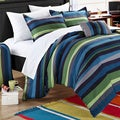 Chic Home Kyle Striped 10-piece Dorm Room Bedding Set