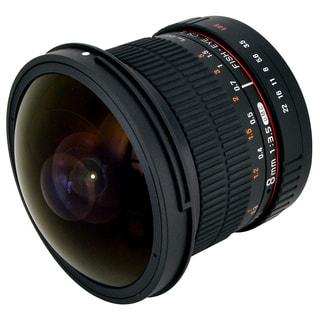 Rokinon High Definition 8mm F3.5 Fisheye Lens