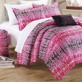 Chic Home Techno Printed Dorm Room Bedding Set