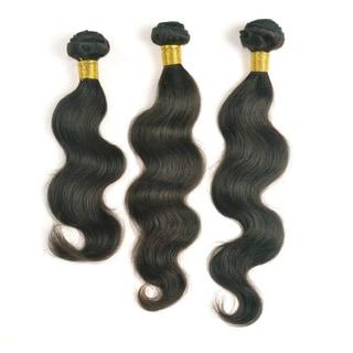 Unprocessed Peruvian Virgin Remi Hair-Body Wave 3-piece Extension Set