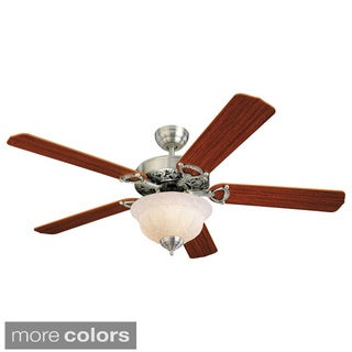 Monte Carlo Ornate Elite 52-inch 5-blade Ceiling Fan