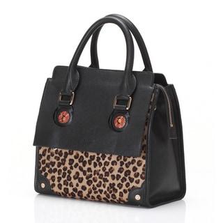 Women's 'Linda' Wa Obi Leather Satchel Handbag