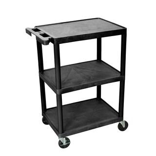 Luxor 3 Shelf Cart with Push Handle