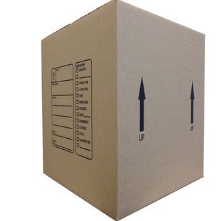 The Boxery Genuine Medium Moving Boxes (Pack of 10)