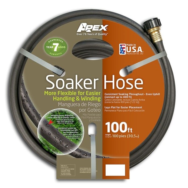100-foot Flexible Soaker Hose