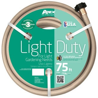 Teknor Apex Light Duty 75-foot Garden Water Hose