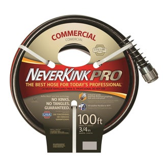 Neverkink PRO Black/ Red 100-foot Hose