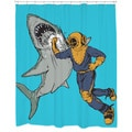 Shark Punch Shower Curtain