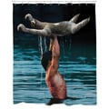 Dirty Dancing Sloth Shower Curtain