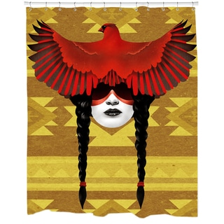 Cardinal Warrior Shower Curtain