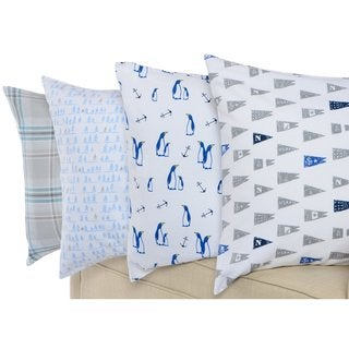 Nautica Pre-shrunk Cotton Flannel Sheet Set