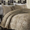 Fox Faux Fur 3-piece Duvet Cover Set