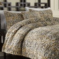 Leopard Faux Fur 3-piece Duvet Cover Set