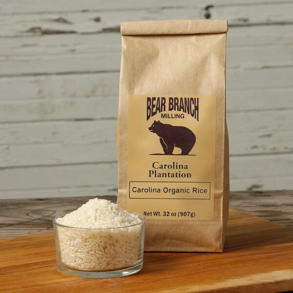 Carolina Organic Long Grain White Rice (Pack of 6)